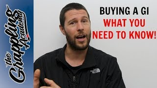 Buying A Gi - What You Need To Know!