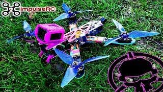 """6S Slammed Drop Deck ImpulseRC 5"""" Alien Rotor Riot Edition FPV Drone"""