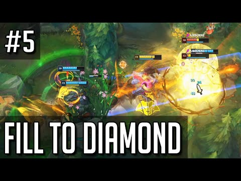League of Legends but filling to diamond has been I N T E R E S T I N G
