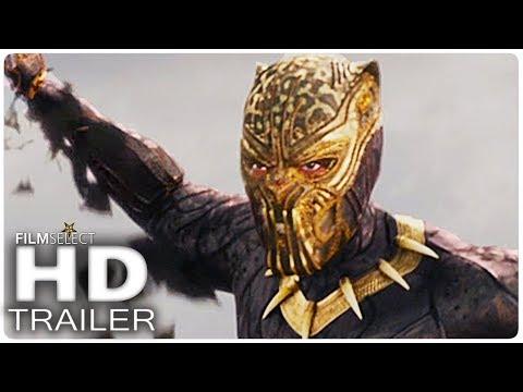 BLACK PANTHER Trailer 2 (Extended) Marvel 2018