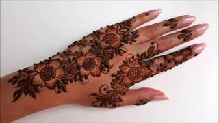 Beautiful Stylish Arabic Henna Design For Eid 2020