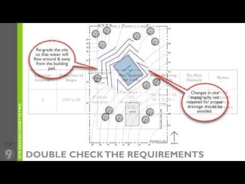 Architect Registration Exam - Site Grading Vignette - YouTube