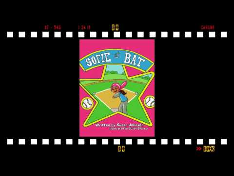 Sofie at Bat Book Trailer