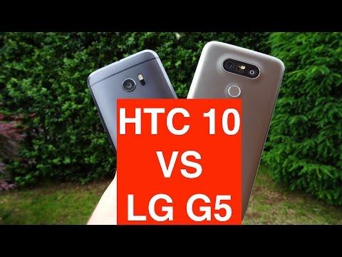 HTC 10 vs LG G5 ITA, Video confronto