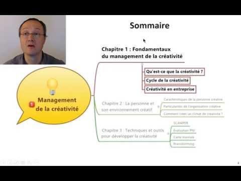 Vidéo introduction au management de la créativité