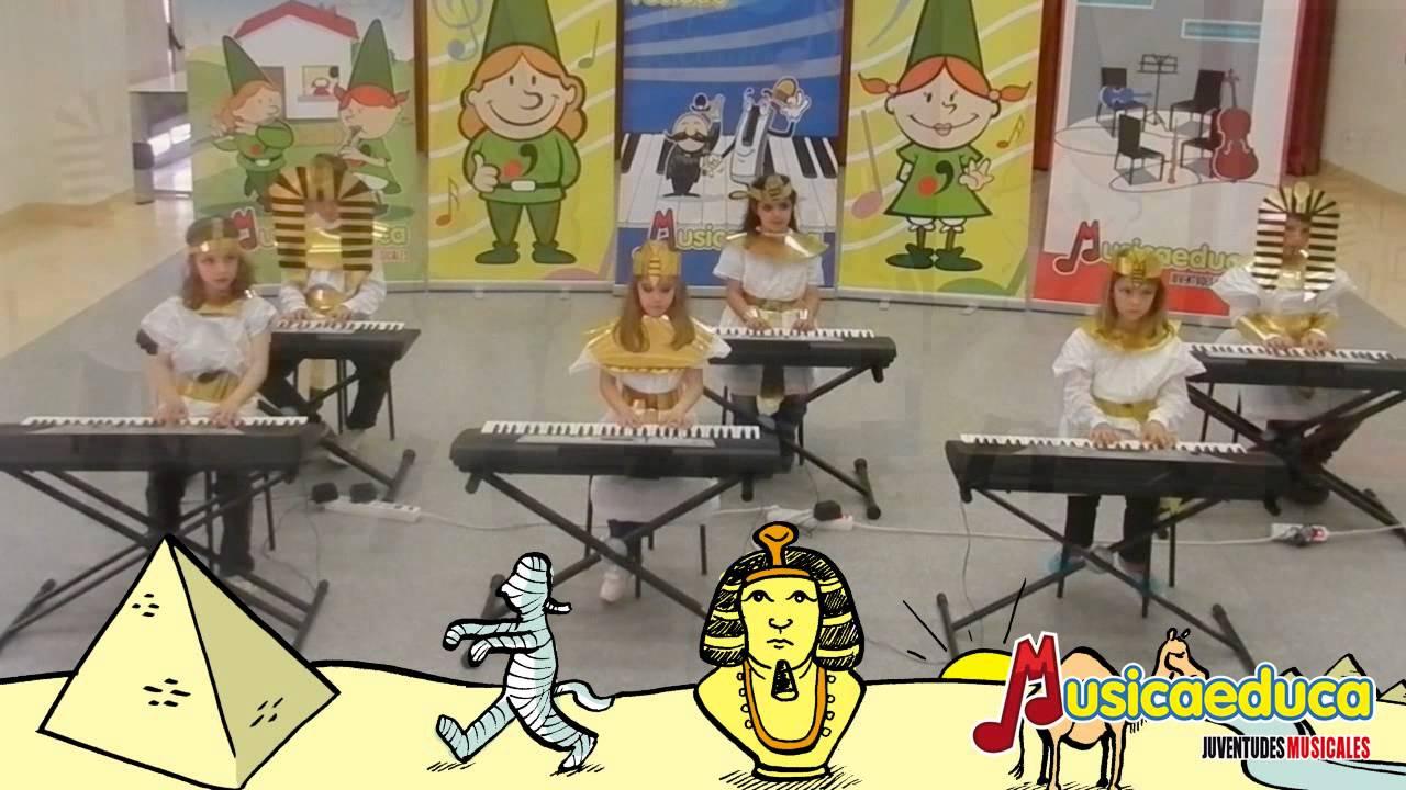 La canción del Faraón - Grupo de Alumnos de Mi Teclado 4