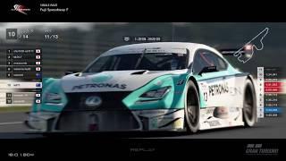 Gran Turismo™SPORT - Fuji Speedway Lexus RC F Gr2 (online race)