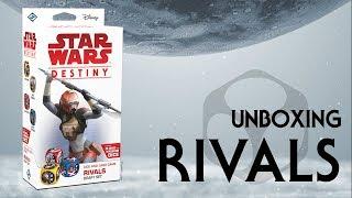Star Wars Destiny Unboxing - Rivals Draft Set!