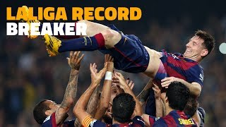 The day Messi beat Zarra as top scorer of LaLiga