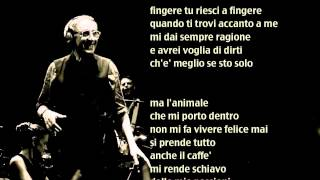 Franco Battiato - L'animale - Base musicale con testo