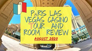 Las Vegas August 2020: Paris Las Vegas Casino Tour & Hotel Room Review: Whats It Like In Vegas Now?