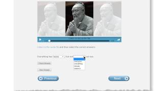Famous Quotes Listening Practice:  Instructions