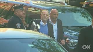 Rape accused Harvey Weinstein surrenders to police New York