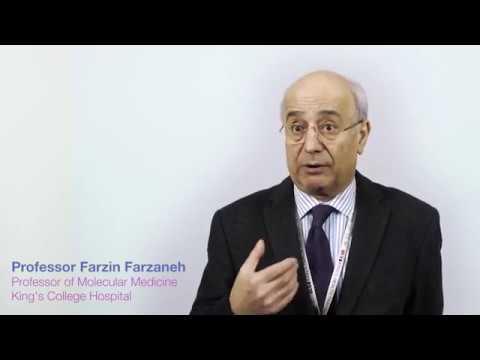 Video Professor Farzin Farzaneh, Head of Molecular Medicine at King's