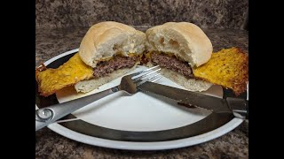 (How To) Make A Easy Cheese Skirted Cheeseburger