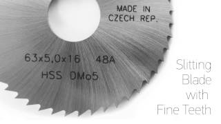 preview picture of video 'Saw Blades HSS Cold and Cut-Off Saws'