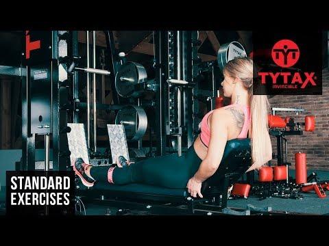 TYTAX® T3-X | Sled Seated Straight Leg Calf Raise