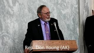 Clean Energy EXPO 2019: U.S. Representative Don Young (AK)