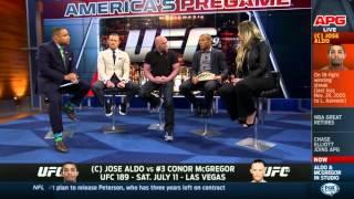 Jose Aldo & Conor McGregor FS1 Interview 24/03/25