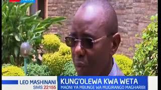Maoni ya Mbunge wa Mugirango Magharibi kuhusu kubanduliwa kwa Wetangula