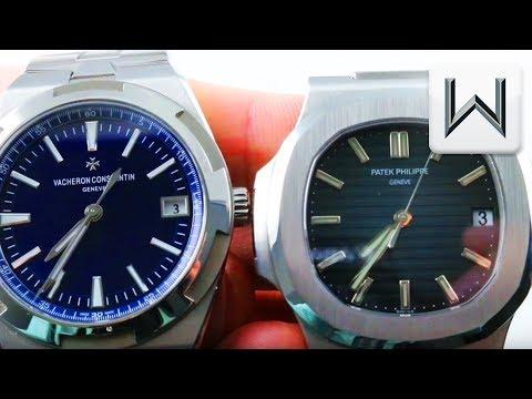 Vacheron Constantin Overseas vs Patek Philippe Nautilus 5711/1A-010 vs 4500V/110A-B128