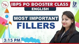 Fillers | English | IBPS PO 2019 | 3:15 pm