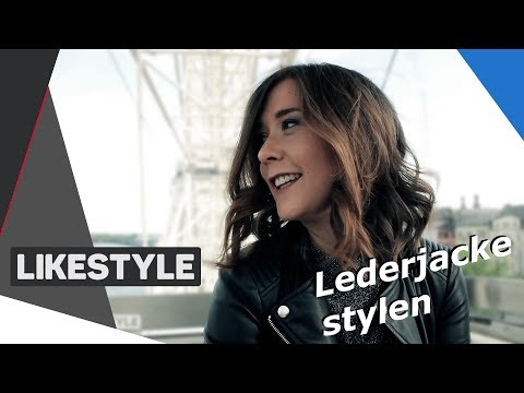 Lederjacke stylen | Top 3 Outfits | Fashion