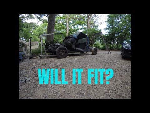 Mounting F150 Cab on Crown Vic Frame | Project Vicky Ep  3