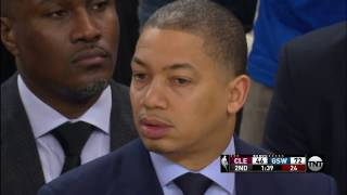 Cleveland Cavaliers at Golden State Warriors - January 16, 2017