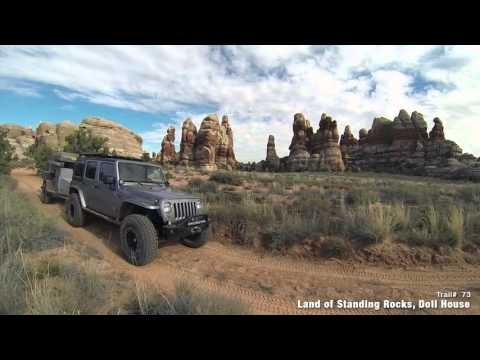 Guide to Moab Utah Backroads & 4-Wheel-Drive Trails 3rd Edition
