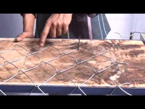 Semi Automatic Wire Mesh Fencing Machine