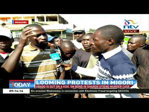 Migori residents react to the arrest of Governor Okoth Obado