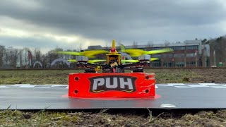 Racing The Cold - Outdoor FPV Race Training - PUH