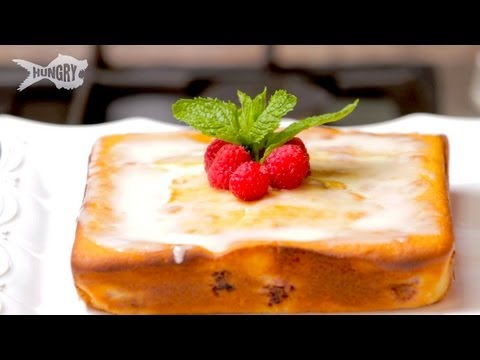Video Orange Raspberry Coffee Cake - Laura Vitale Summer Desserts Unplugged