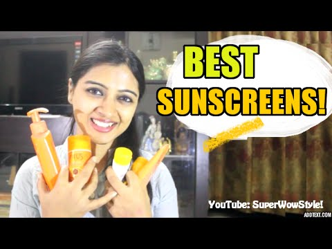 Best Sunscreen for Indian Skin | Review + Buying Tips | superWoWstyle!