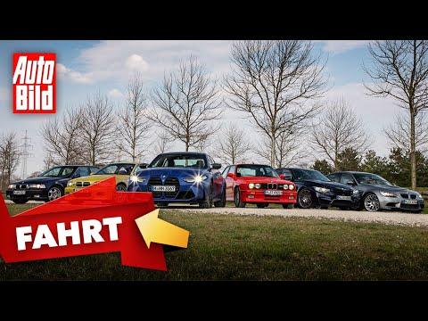 BMW M3 |Sechs M3-Generationen auf einen Streich |Vorstellung mit Alexander Bernt