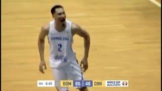 Selección Dominicana  vs Canada FIBA Basketball World Rigoberto Mendoza