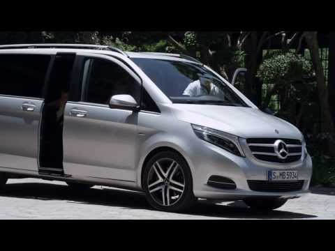Mercedesbenz  V Class Минивен класса M - рекламное видео 2
