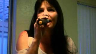 Jeannette singing Saigon Kick - Love Is On The Way.wmv