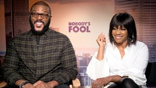 "NOBODY'S FOOL Tyler Perry & Tiffany Haddish Talk Creating His First ""R"" Rated Comedy"