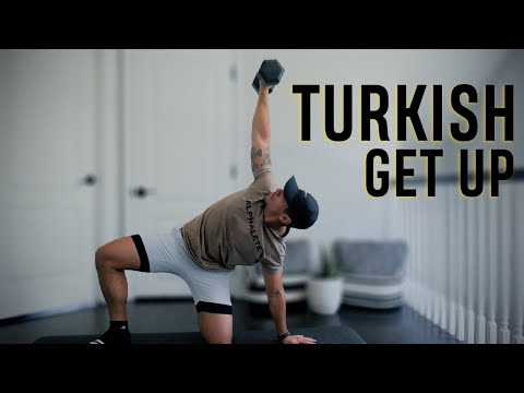 The GREATEST Dumbbell Exercise | How to Perform a Turkish Get Up!