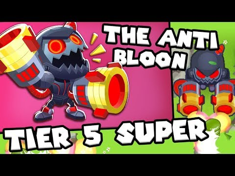 Bloons TD 6 - The ANTI-Bloon  - Tier 5 Super Monkey | JeromeASF