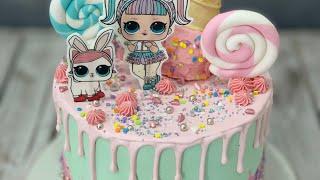 LOL Surprise Drip Cake