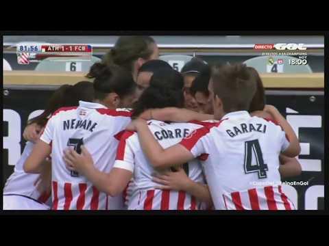 Semifinal – Copa de la Reina 2017-18 – Athletic 2 – Barcelona 2