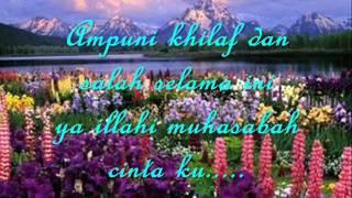 LAGU MUHASABAH CINTA - EDCOUSTIC WITH LIRIK.wmv