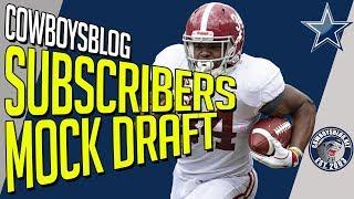 Subscribers Dallas Cowboys 7-Round Mock Draft