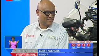 Ride 47 takes to the tarmac to raise funds for education: Guest Anchor pt 5
