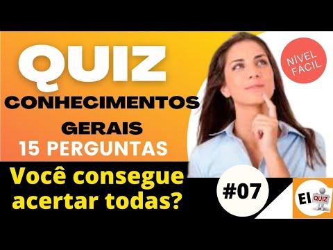 DESAFIO QUIZ DE CONHECIMENTOS GERAIS   NVEL FCIL #7