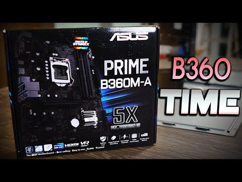 Asus B360M-A Motherboard Review – How Far Can the Memory and Clocks GO?