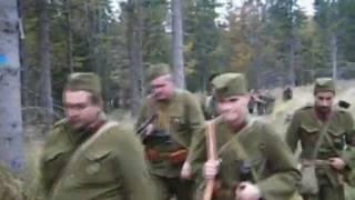 preview picture of video 'Road hero Slovak national uprising 1944 / Memoriál SNP - KVH Ostrô'